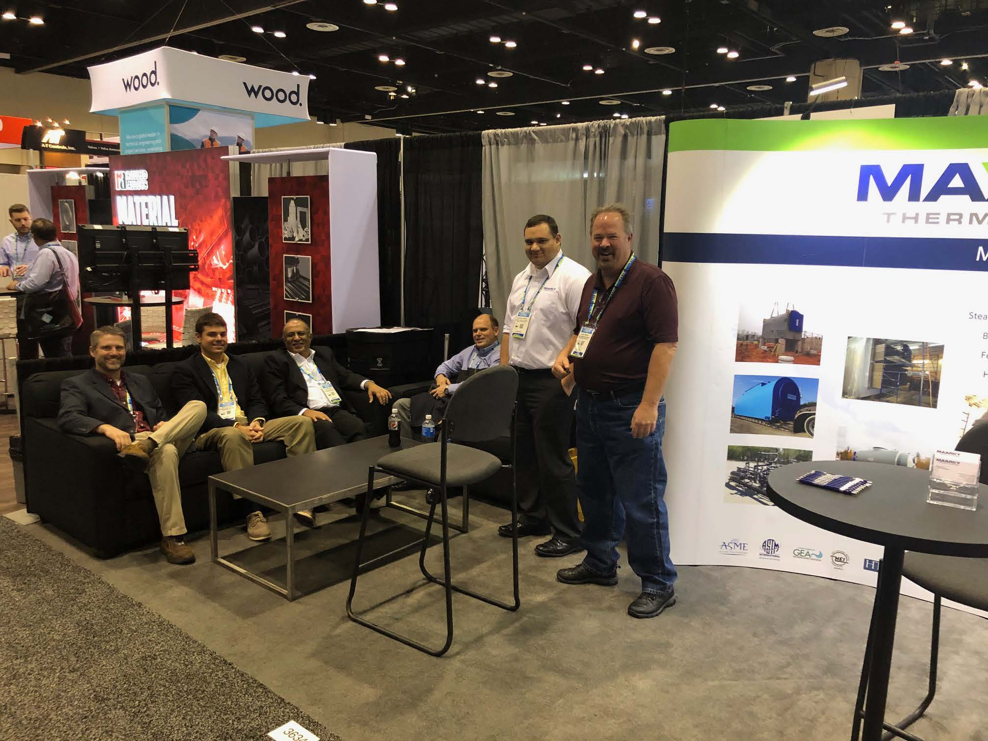 Maarky Thermal Systems Exhibits at 2018 PowerGen